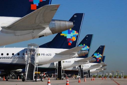 Azul recebeu aprovação para realizar voos para os Estados Unidos