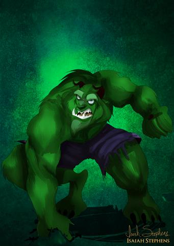 A Fera como O Hulk