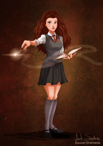 Bela como Hermione