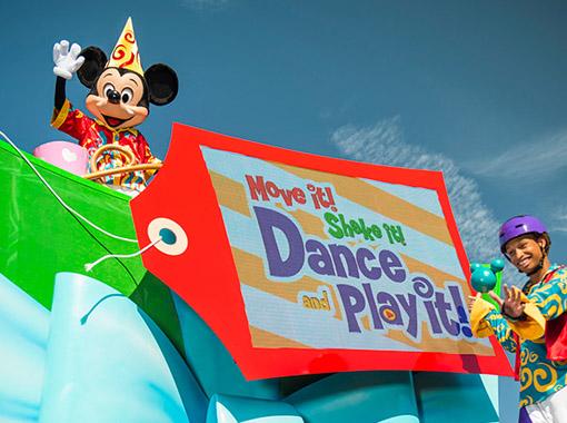 Parada Disney (Reprodução de imagem do blog da Disney)