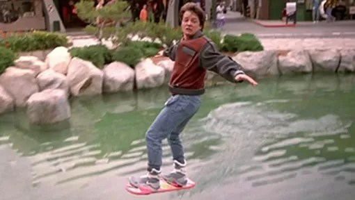 Skate De Volta Para o Futuro