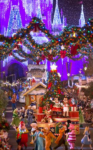 Natal no Magic Kingdom