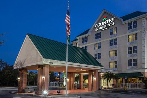 Country Inn & Suites Universal Orlando entrada