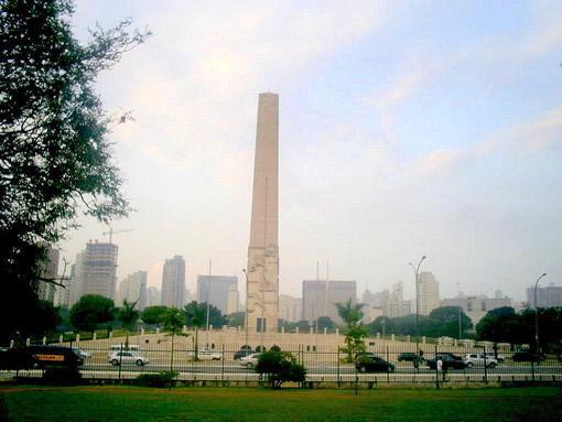 Obelisco (retirado do site do parque do ibirapuera)