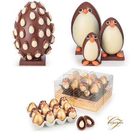 pinguins chocolat du jour