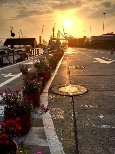 Porto Cartagena por do sol