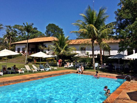 Fazenda Capoava piscina