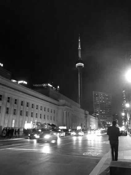 Nuit Blanche CN TOWER Toronto