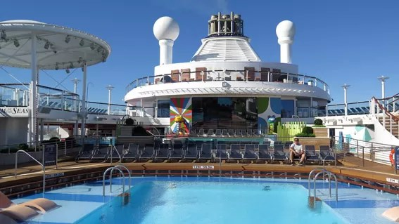 Piscinas do Anthem of The Seas