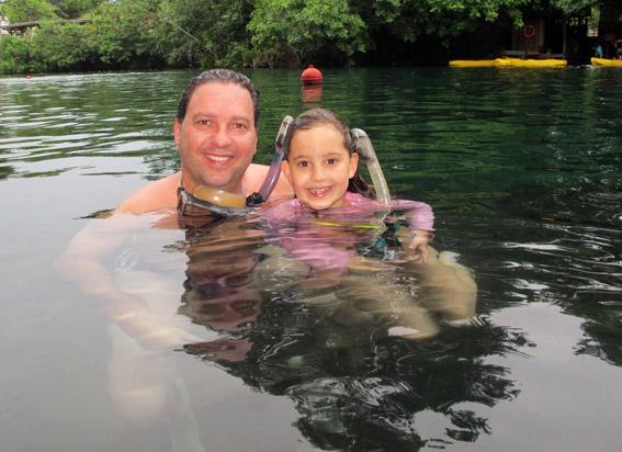 Mergulho Rio Quente