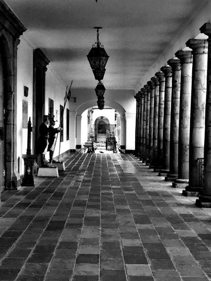 Palácio de Carondelet em Quito no Equador