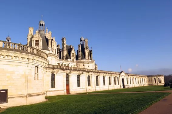 Château Chambord Vale do Loire