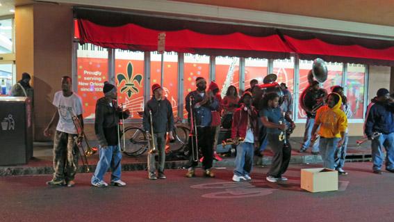 Musica na rua New Orleans