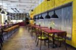 Mesa do Lobby do lobby Superbude St. Pauli Hamburgo