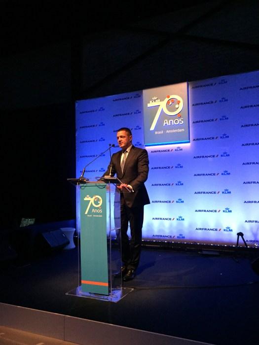 Presidente da KLM Pieter Elbers