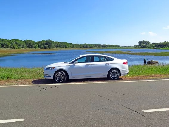 Ford Fusion 2017 Test Drive Bahia