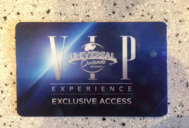 vip-experience Universal Studios