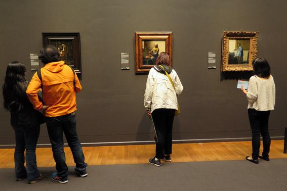 Obra de Vermeer no Rijksmuseum