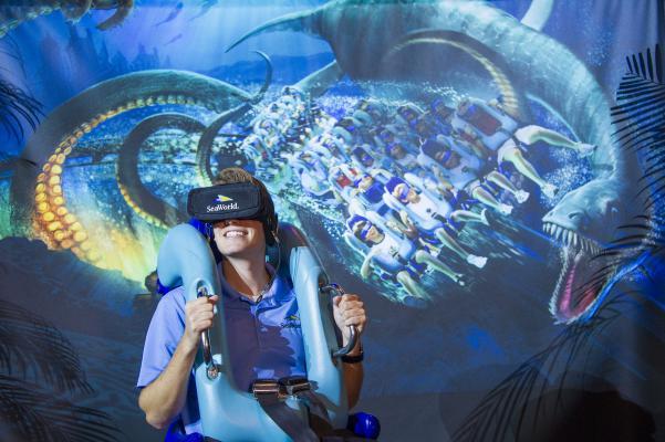 Kraken-VR SeaWorld Orlando