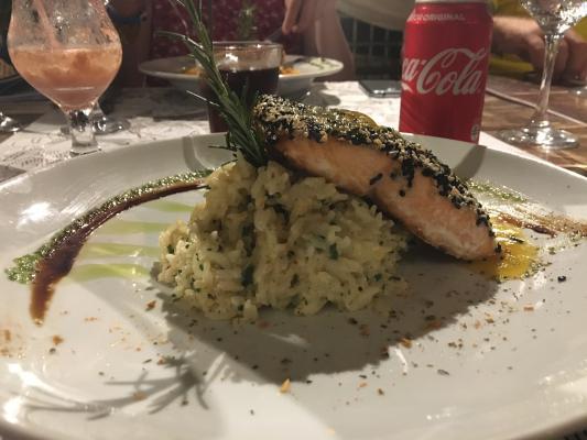 restaurante do hotel Saint Tropez
