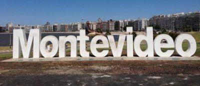 letreiro Montevideo