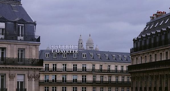 La Ópera Garnier/Galleries Lafayette