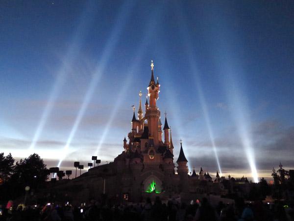 Disneyland Paris Illumination fios de luz