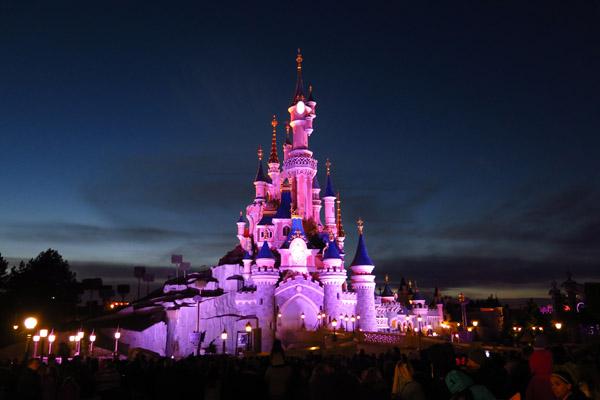 Disneyland Paris Illumination rosa