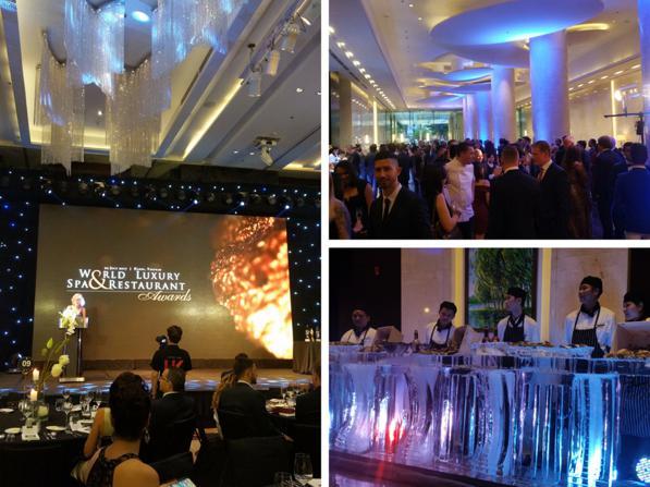 Evento World Luxury Spa and Restaurant Awards 2017