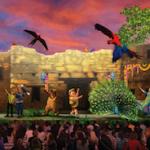 Novo show - UP! The Great Bird Adventure (baixa)