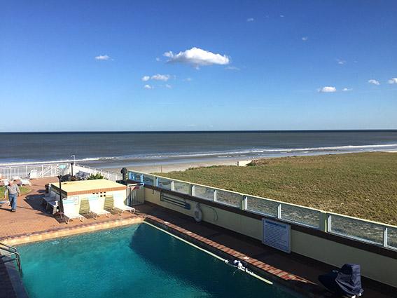 Sea Shells Beach Club Daytona Beach vista da suite