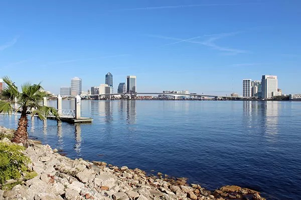 Jacksonville vista da feira