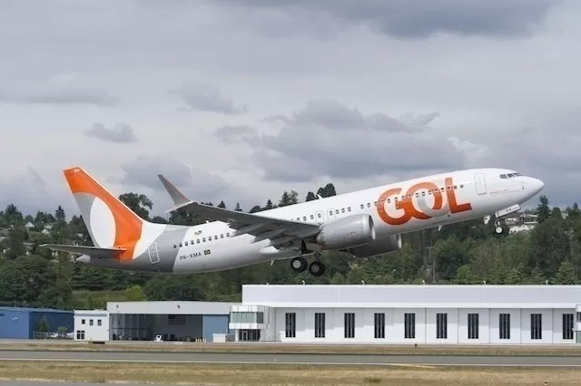 GOL 737MAX Delivery - June 28, 2018