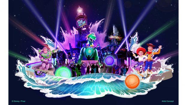 H2O Glow Nights - slogan
