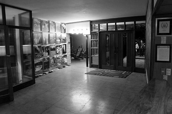 Hotel Antumalal Pucon lobby