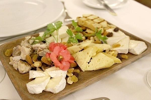 Hotel Antumalal Pucon queijos