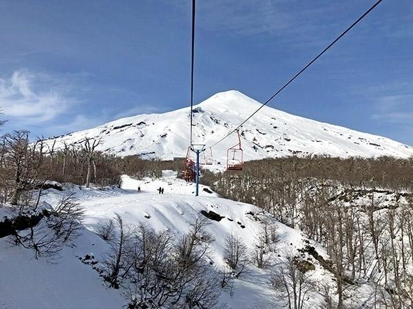 Vulcao Villarrica Teleferico