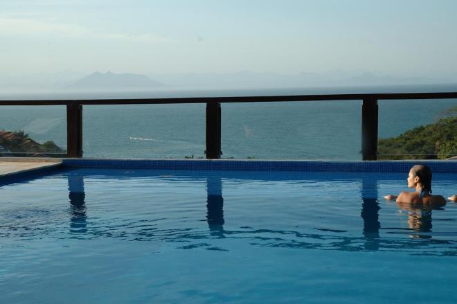 La Pedrera Hotel piscina