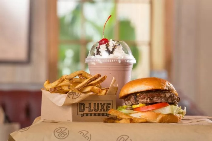 Disney Springs D LUXE Burger
