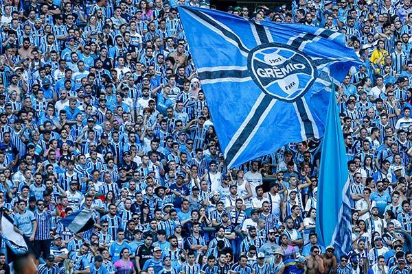 Torcida do Grêmio final da libertadores chegando