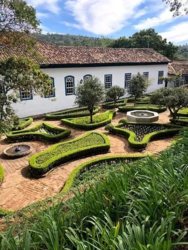 Hotel Fazenda Dona Carolina jardim