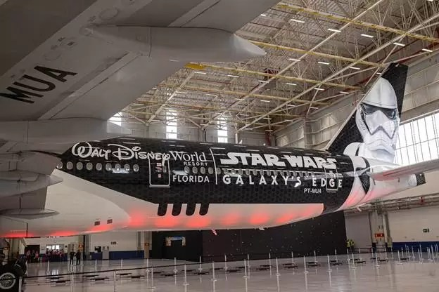 Stormtrooper Plane avião Star Wars
