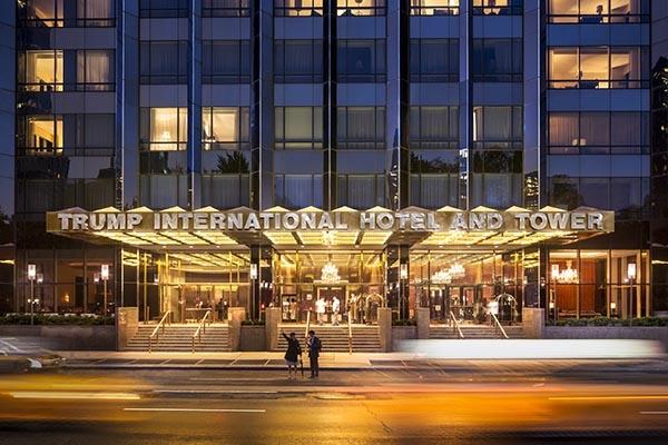 Trump Hotel NY fachada