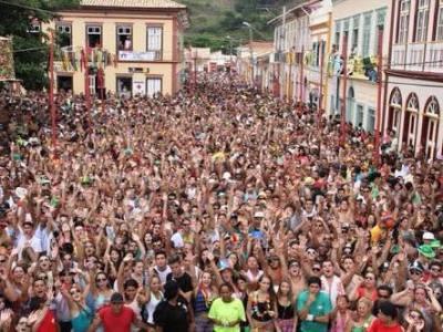 Carnaval no interior de SP