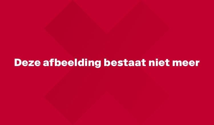 Uitzinnige vreugde en diepe teleurstelling in een beeld; Achilles '29 viert de 3-2 van Thijs Hendriks. De bank van Jong Ajax baalt.