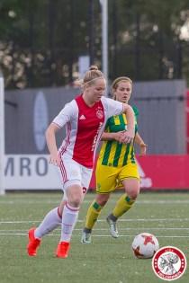 19-05-2017: Voetbal: Vrouwen Ajax v ADO den Haag: Amsterdam Lucienne Reichardt of Ajax