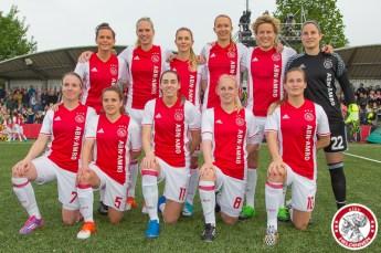 19-05-2017: Voetbal: Vrouwen Ajax v ADO den Haag: Amsterdam Teamfoto Ajax