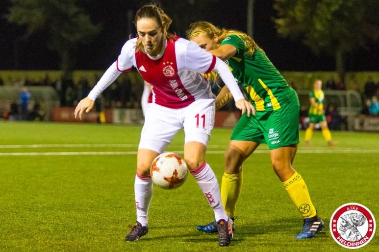 2017-09-22 Ajax vrouwen - Ado den Haag- 00009