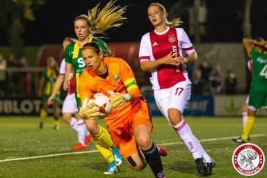 2017-09-22 Ajax vrouwen - Ado den Haag- 00014