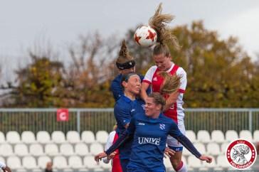 12-11-2017: Voetbal: Vrouwen Ajax v sc Heerenveen: Amsterdam eredivisie vrouwen Sportpark de toekomst seizoen 2017-2018 L-R